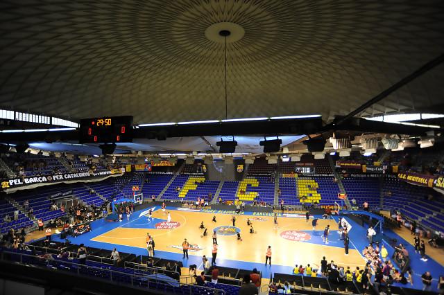 El fc barcelona tendr un nuevo palau para espectadores for Puerta 0 palau blaugrana