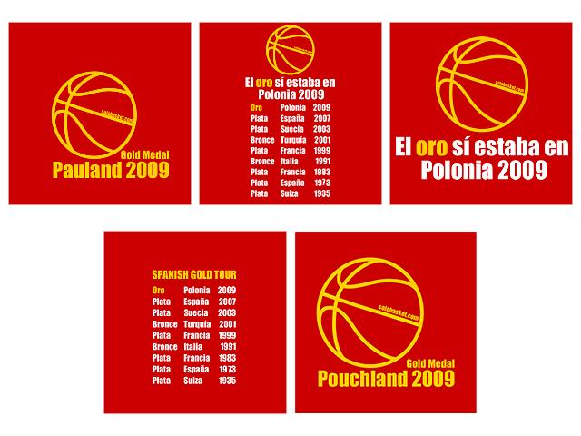 Camisetas de la selección española de baloncesto