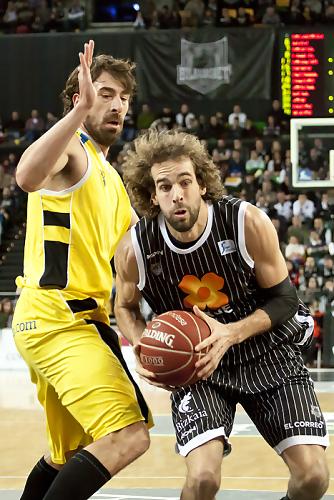 Grimau supera a Lampropoulos (Foto: Luis Fernando Boo).