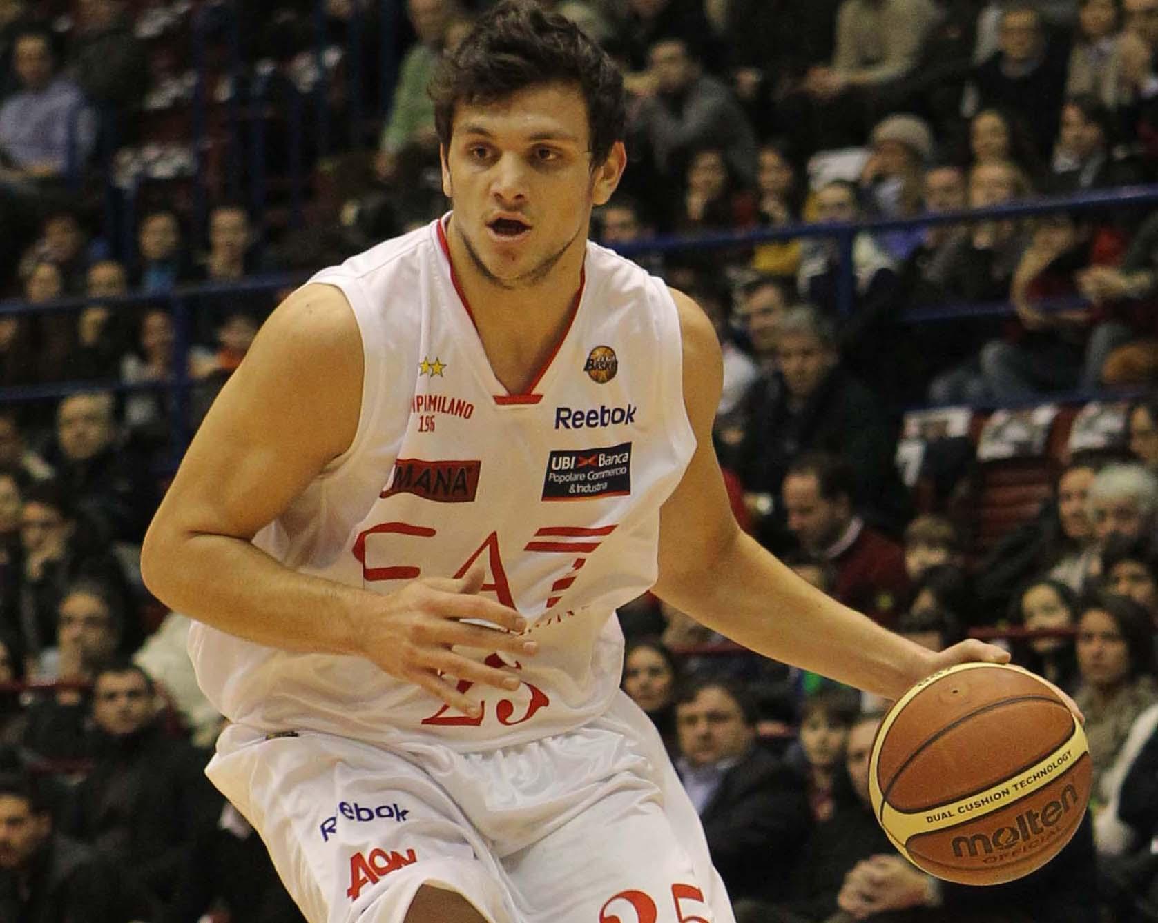 Sandro Gentile, la promesa de Armani