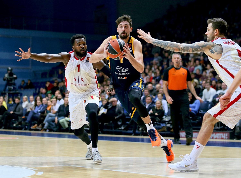 Euroliga (J8): Khimki se lleva el duelo de aspirantes. Espectáculo en Atenas - solobasket.com