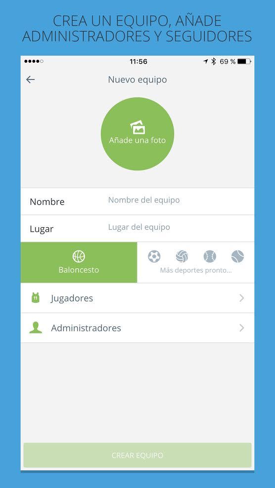 La app es muy sencilla e intuitiva.