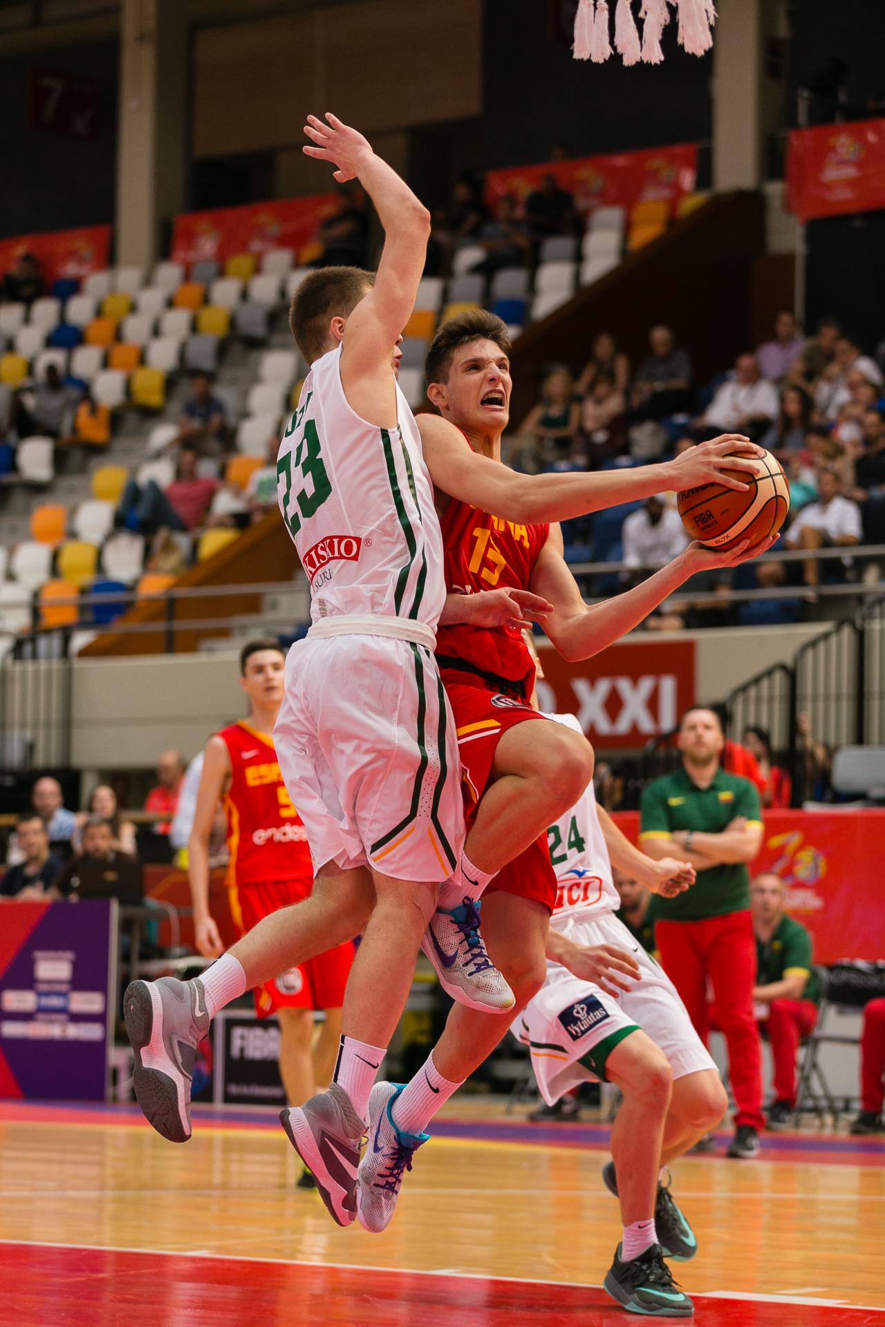 Lituania - España (Foto: Dani Marzo/@dmarzofoto)