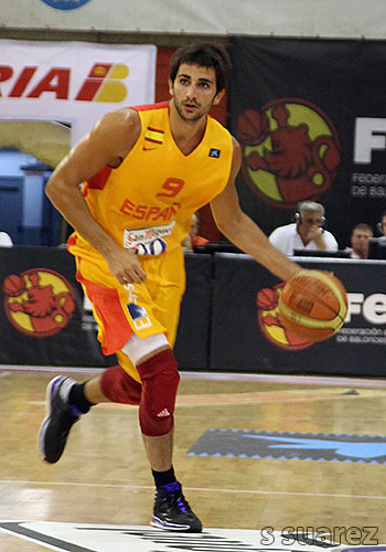 Ricky Rubio al mando (Foto: S Suárez)