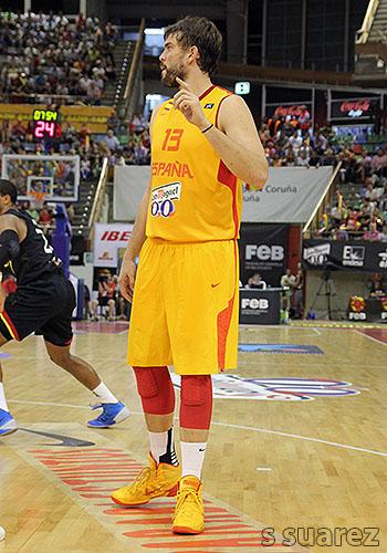 Marc Gasol pide el balón (Foto: S Suárez)