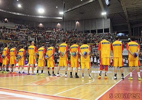 La Selección Española, al completo (Foto: S Suárez)