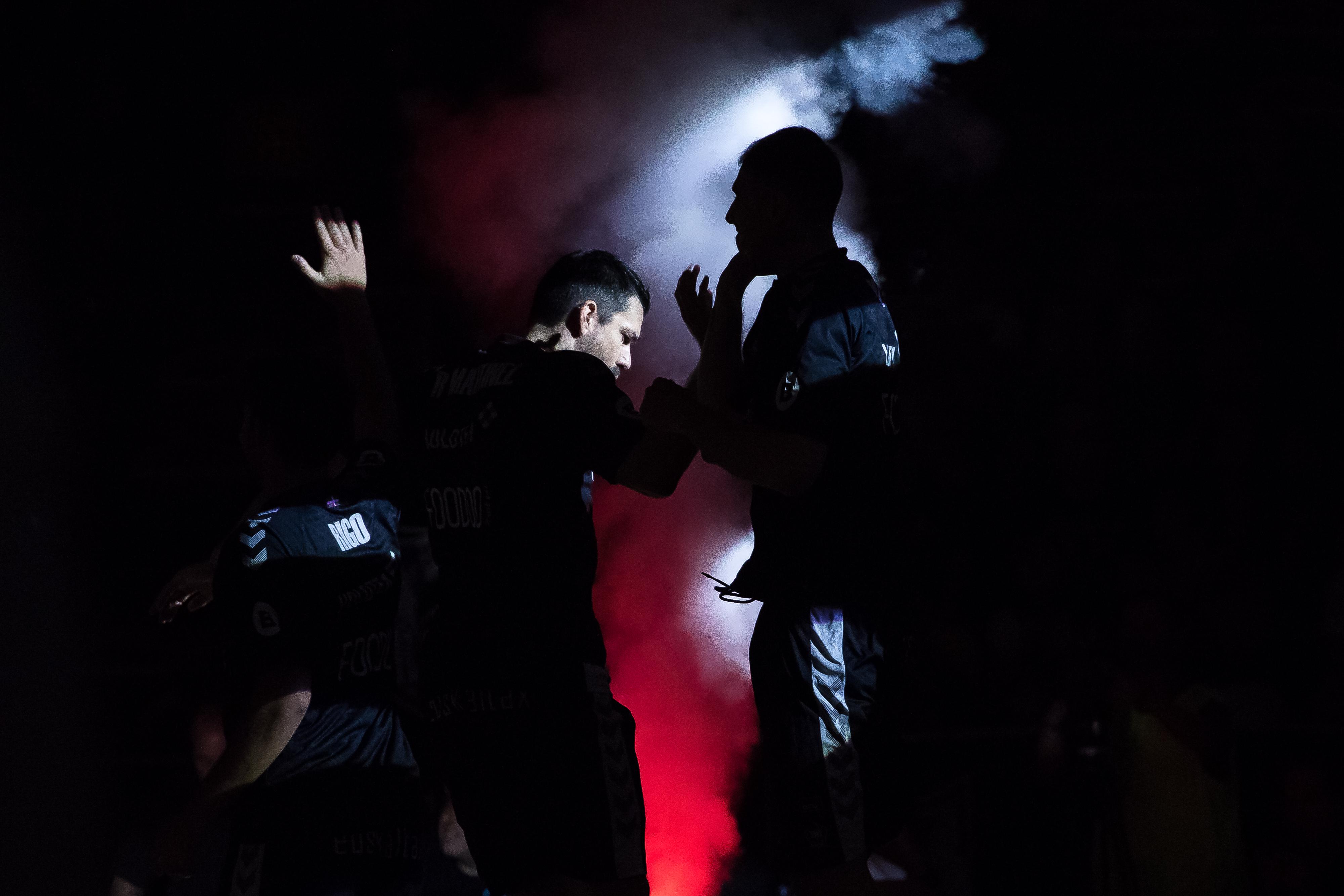 Presentación del Bilbao Basket (Foto: Luis Fernando Boo).