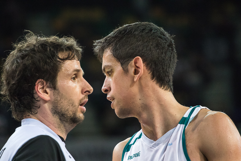 Lopez y Miljenovic, frente a frente (Foto: Luis Fernando Boo).