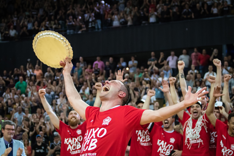 Bilbao Basket, campeón de la Final Four | Foto: Luis Fernando Boo.