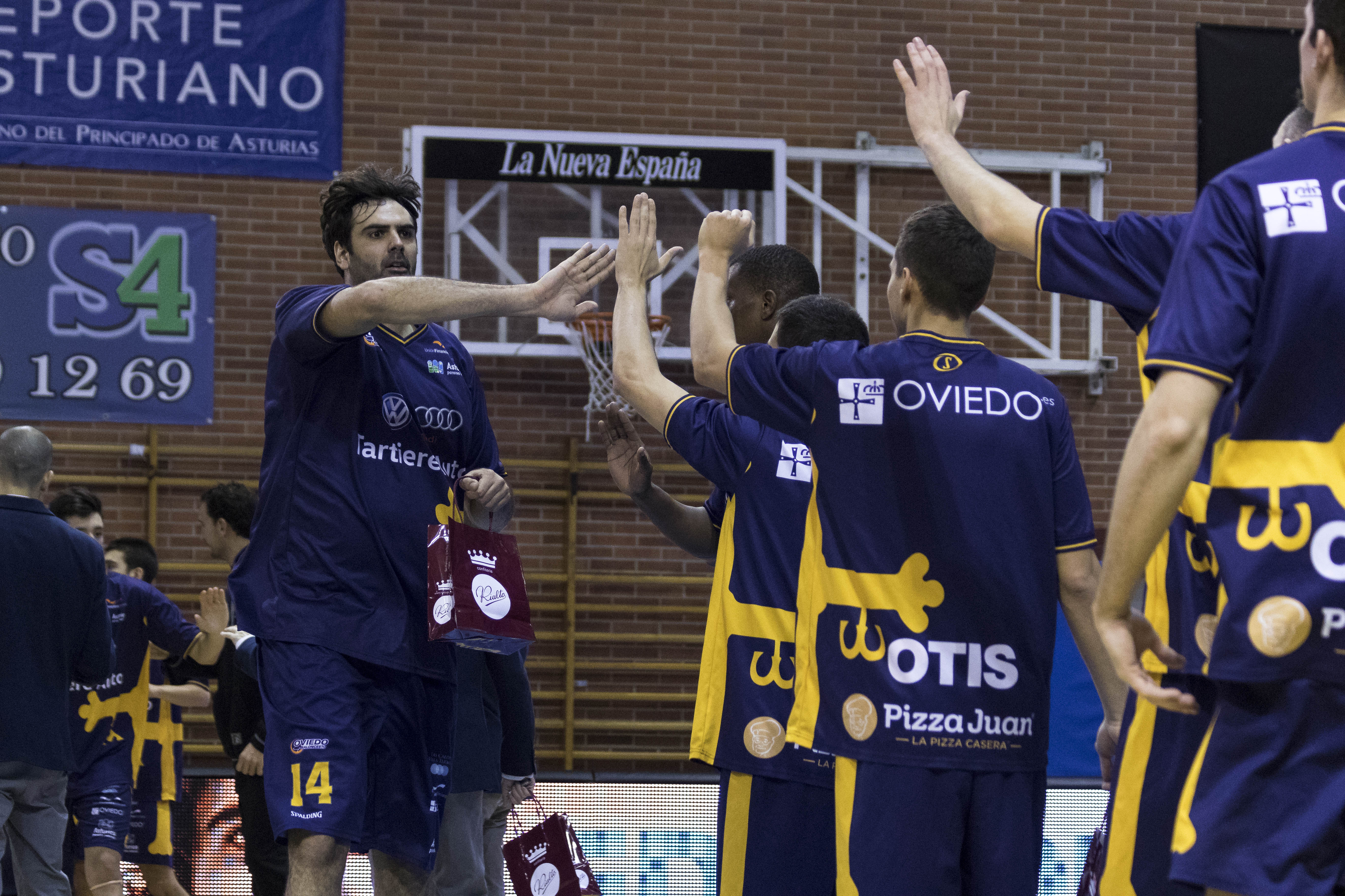 Presentación Oviedo Baloncesto (Foto: Christian García)