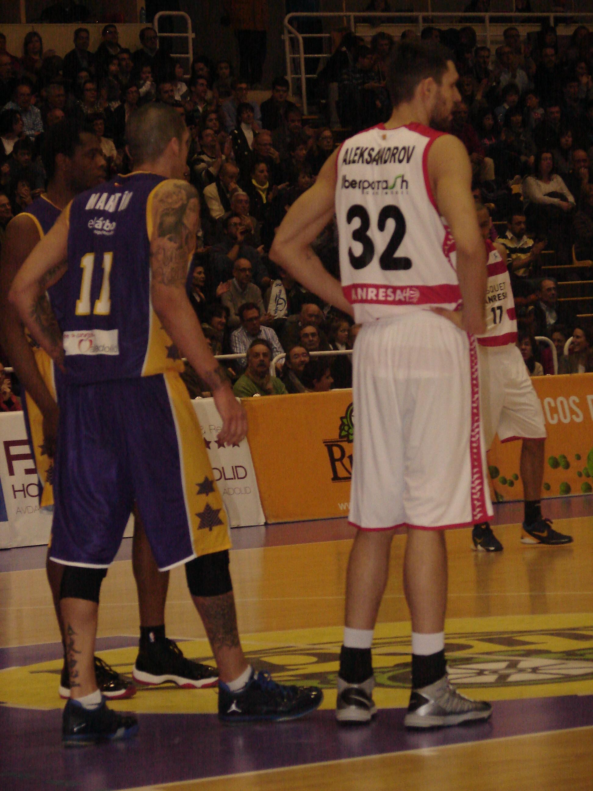 Nacho Martín y Aleksandrov (Foto: Jose Navas)