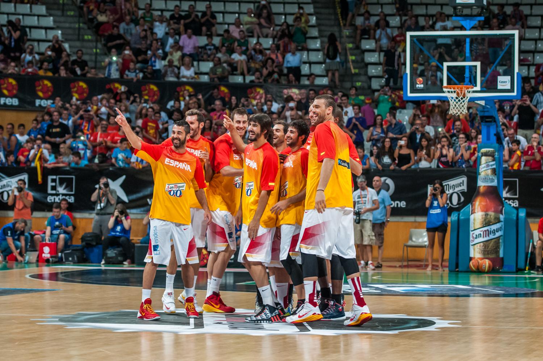 El buen ambiente, característica ya del equipo nacional. (Foto: JM Casares)