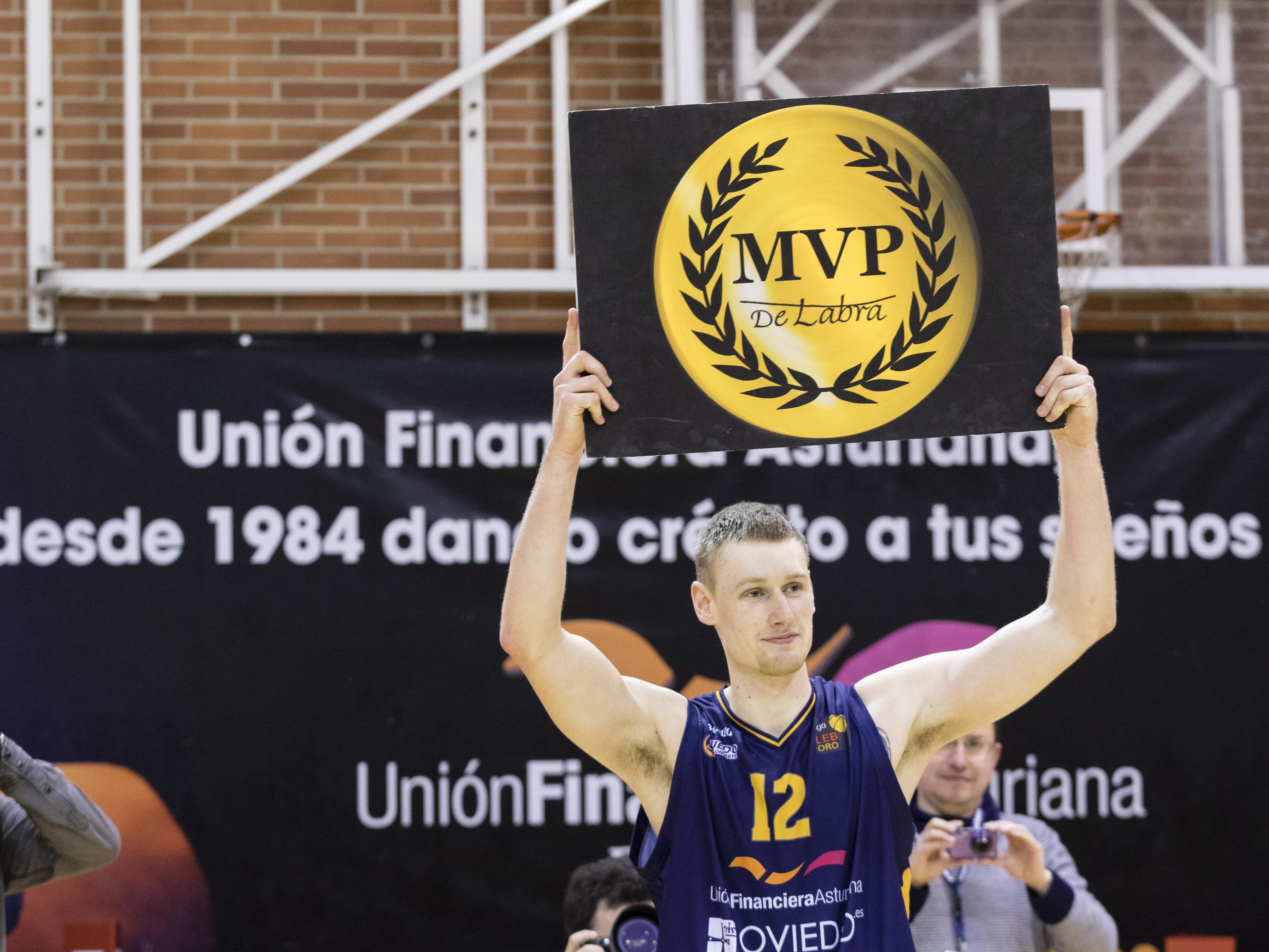 Paul Jesperson, MVP con 28 puntos (Foto: Christian García)