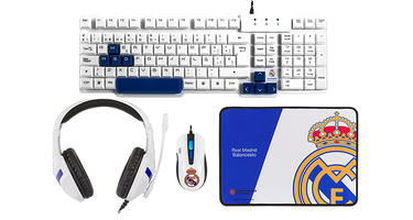 Mars Gaming productos Euroleague del Real Madrid