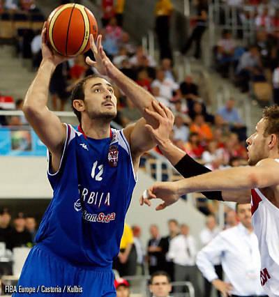 Krstic, uno de los mejores elementos de la talentosa Serbia (Foto FIBA/Castoria/Kulbis)