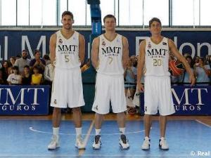 Rudy, Carroll y Pocius, las caras nuevas del Real Madrid (Foto: Real Madrid)