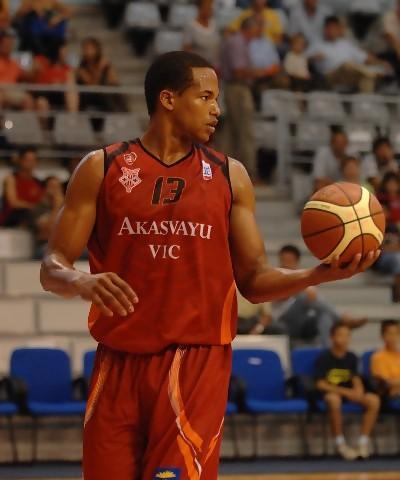 Eulis Báez puede ser uno de los MVP de la competición en su tercer año con el Akasvayu Vic (foto FCB)