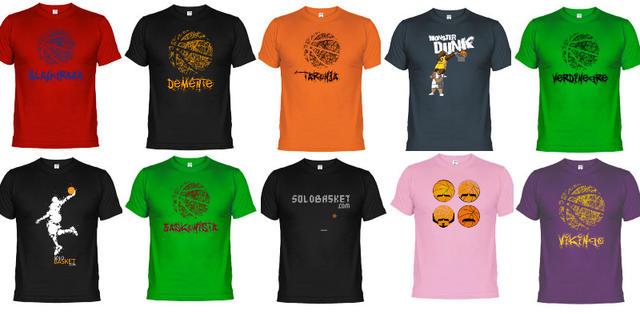 Nuevas camisetas Solobasket