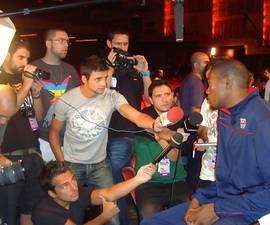 Solobasket.com entrevistó en New York, junto a otros compañeros de Canal+ y Marca, a Kevin Durant
