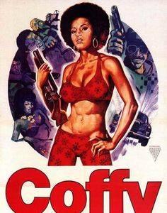 Cartel de Coffy, con Pam Greier.