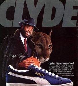 Las flamantes Puma 'Clyde'.