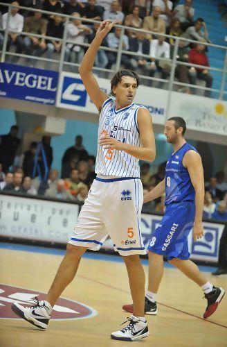 El ex de la Penya y Valladolid Radulovic juega en Brindisi (Foto: Legadue/Ciamillo-Castoria/Tasco)