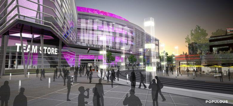 Proyecto de la nueva Arena de los Kings.
