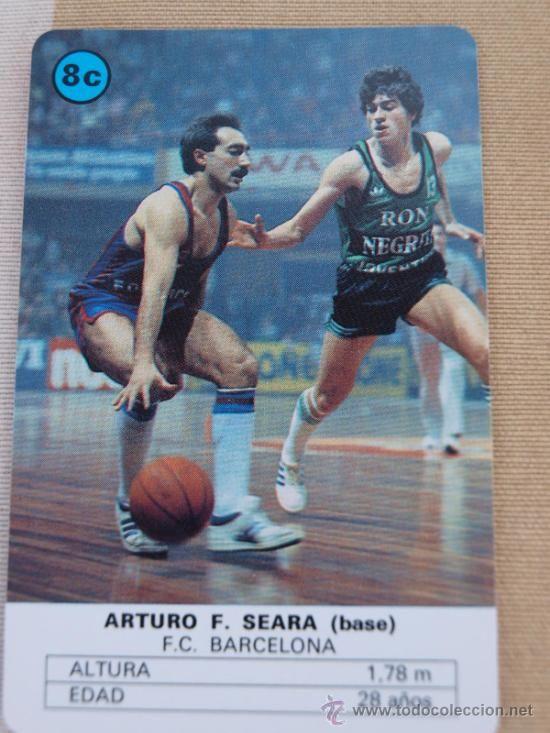 Cromo de Arturo Seara.