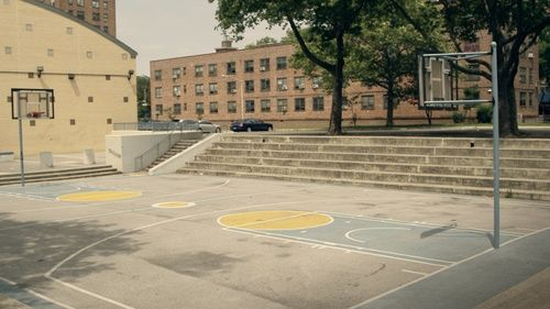 El playground donde solía jugar Sweet Pea.
