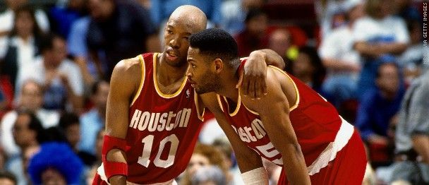 Sam Cassell y Robert Horry.