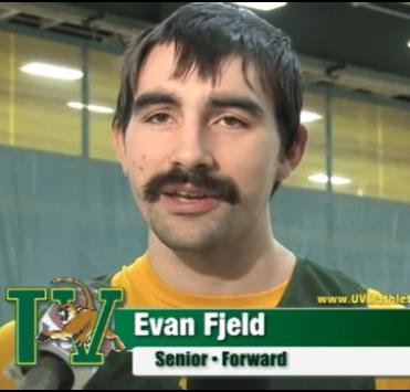 Evan Fjeld, en Vermont.