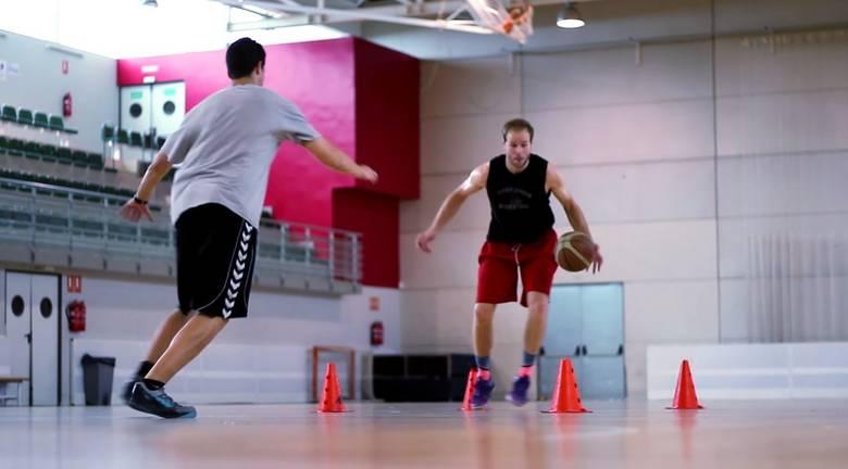 Entrenamiento velocidad en el baloncesto