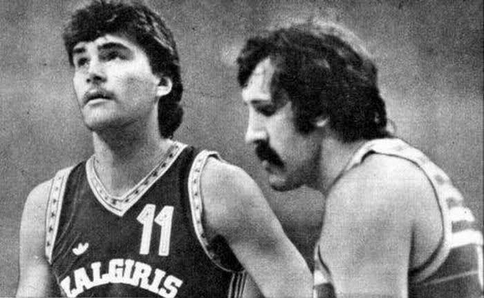 Sabonis y Tkachenko.