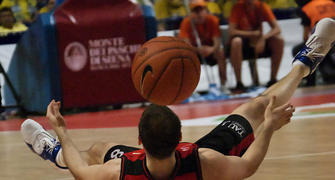 Rakocevic volvió a desaparecer en los momentos clave (Foto: FM)