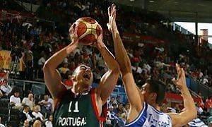 Jorge Coelho con la elástica de su Selección (Foto: FIBA EUROPE)