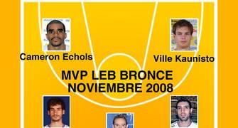 MVP Bronce Noviembre
