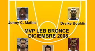 MVP LEB Bronce Diciembre
