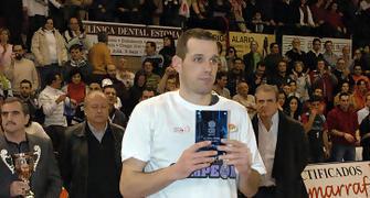 44 Carles Bravo fue el MVP de la final