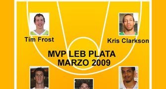 MVP LEB PLATA MARZO