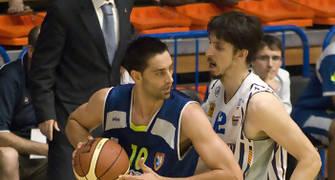 David Mesa con la pelota (foto: FM)