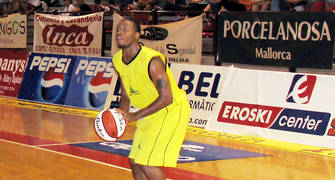 Rod Brown con Basquet Inca