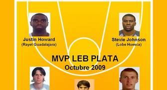 Quinteto del mes de Octubre para la LEB Plata (Foto: Pablo Romero)