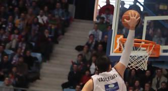 Vassileiadis volvió a ser el eje del juego exterior de su equipo (Foto:  ACB PHOTO/J.Marqués )