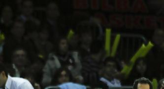 Katsikaris se estrenó con Bizkaia Bilbao Basket (Foto Baskerland)