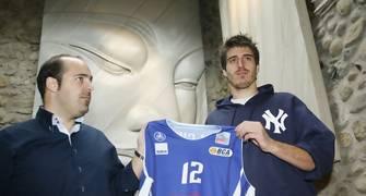 Roger Fornas en su presentación como jugador de Andorra (Foto: X. Pujol / Diari d'Andorra)
