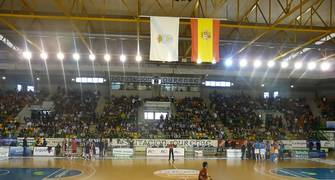 El Pazo Dos Deportes Paco Paz acogió a 5000 espectadores (Foto: Sonia González)