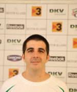 Paco Redondo, entrenador del DKV Joventut Cadete