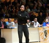 Francesc Redondo, entrenador del DKV Joventut Cadete