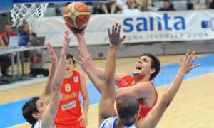 Mirotic, uno de los líderes de la Selección española U-20 (Foto: FIBA Europe/Castoria/Marchi)