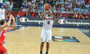 Billups anotó 4 triples (Foto FIBA)